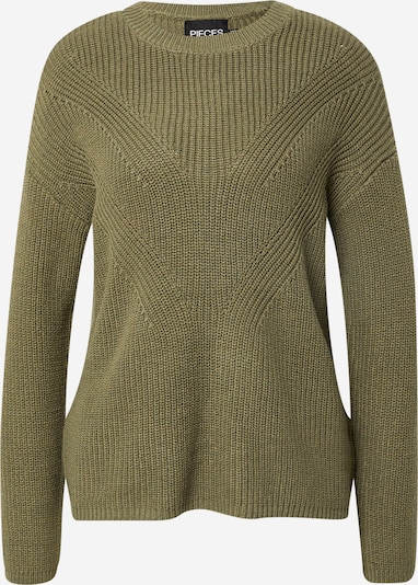 PIECES Sweater 'Karie' in Green, Item view