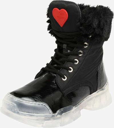 Love Moschino Veterlaarsjes 'TREKK' in de kleur Zwart, Productweergave
