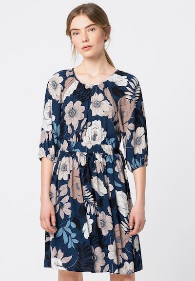 HALLHUBER Kleid in blau / pink / weiß, Modelansicht