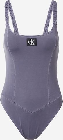 Calvin Klein Swimwear Swimsuit in Blue