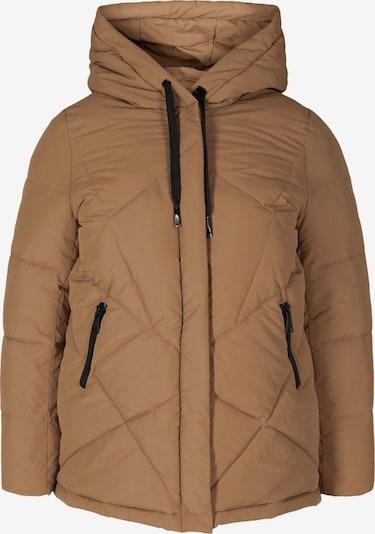 Zizzi Winter Jacket 'Mharbour' in Light brown, Item view
