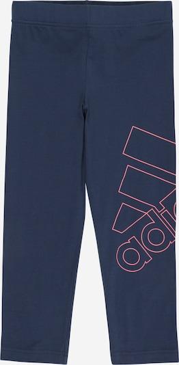 ADIDAS PERFORMANCE Leggings in blau / pink, Produktansicht
