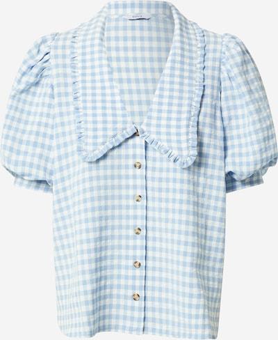 Envii Bluse 'APRIL' in hellblau / weiß, Produktansicht
