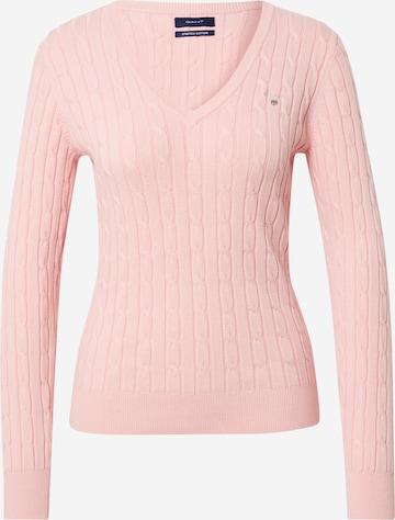 GANT Pullover in Pink