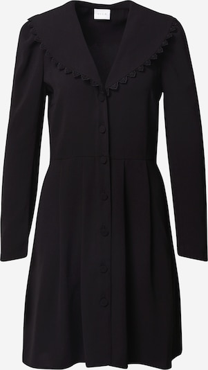 VILA Robe-chemise 'Laus' en noir, Vue avec produit