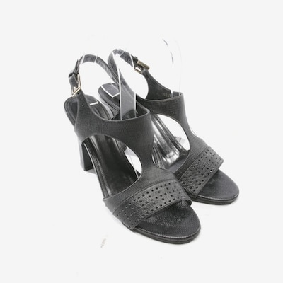 HUGO BOSS Sandaletten in 39,5 in schwarz, Produktansicht