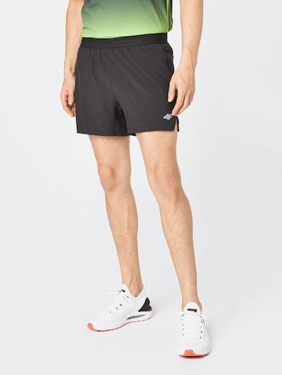 világosszürke / fekete 4F Sportnadrágok, Modell nézet