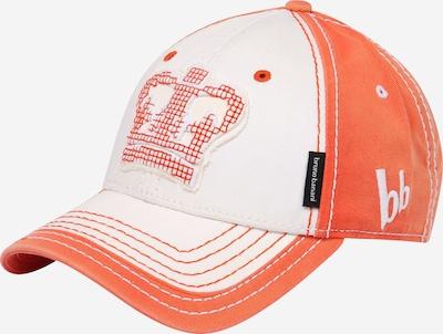 BRUNO BANANI Cap in orange / weiß, Produktansicht