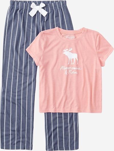 Abercrombie & Fitch Pyžamo - chladná modrá / růžová / bílá, Produkt