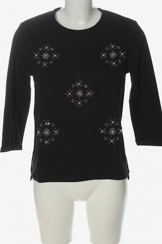 even&odd Sweatshirt & Zip-Up Hoodie in S in Black