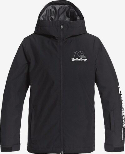 QUIKSILVER Skijacke in schwarz / weiß, Produktansicht