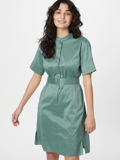 Rochie tip bluză 'Dashila' BOSS Casual pe verde, Vizualizare model