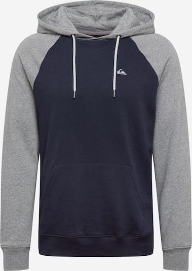 QUIKSILVER Sweatshirt i navy / grå-meleret, Produktvisning