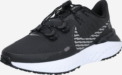NIKE Chaussure de course en noir / blanc, Vue avec produit