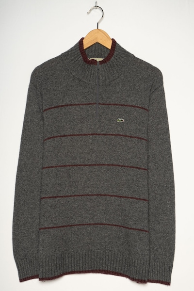 LACOSTE Pullover in M in dunkelgrau, Produktansicht