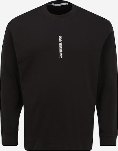 fekete / fehér Calvin Klein Jeans Plus Póló, Termék nézet