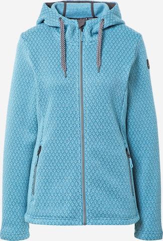 KILLTEC Bluza polarowa funkcyjna w kolorze niebieski