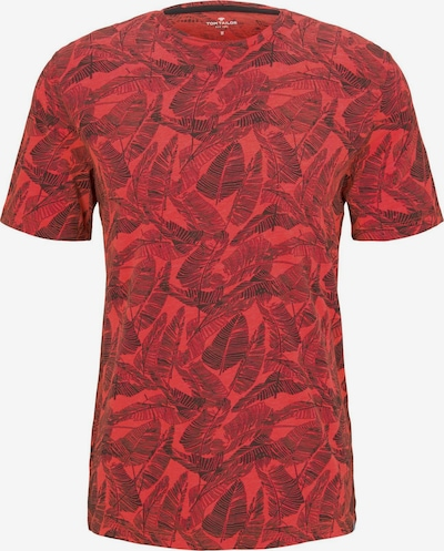 TOM TAILOR T-Shirt in rot, Produktansicht