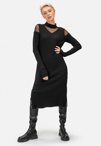 HELMIDGE Dress in Black, View model