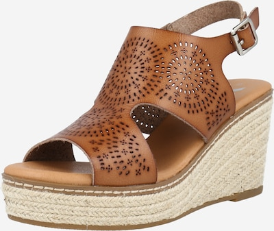Xti Sandale in braun, Produktansicht