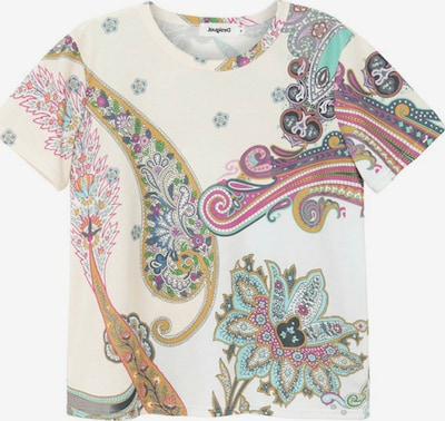 Desigual T-shirt i blandade färger / naturvit, Produktvy