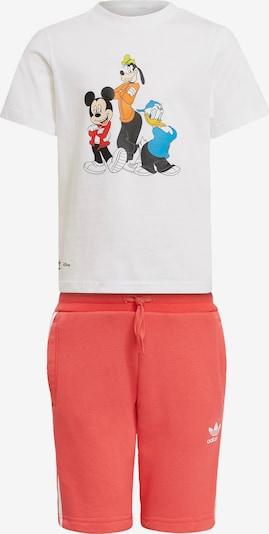ADIDAS ORIGINALS Set in blau / orange / pitaya / rot / schwarz / weiß, Produktansicht