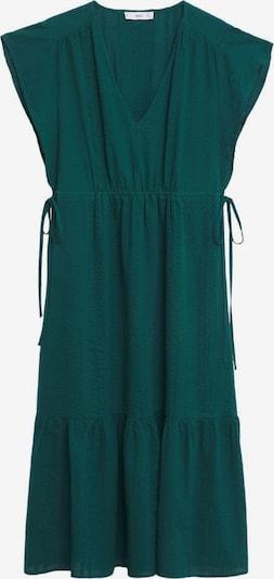 MANGO Kleid in dunkelgrün, Produktansicht