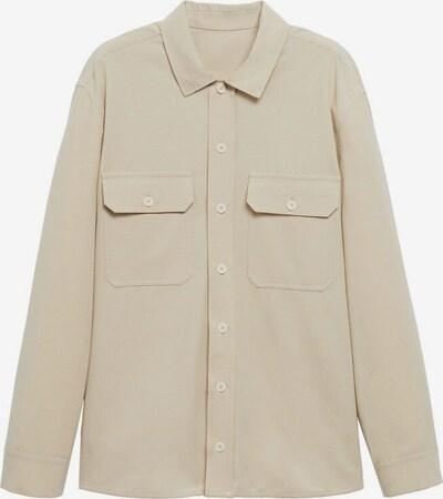 MANGO MAN Hemd 'Cresta-i' in beige, Produktansicht
