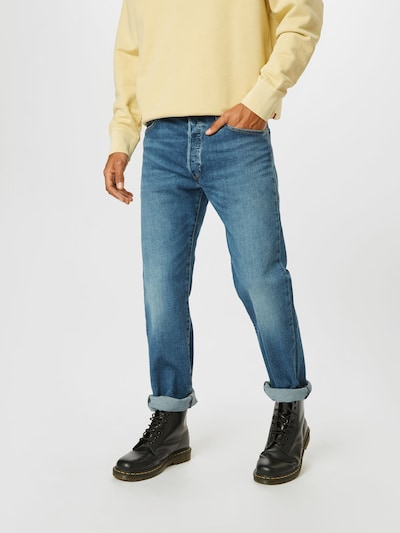 LEVI'S Jeans '501 Original' in blau, Modelansicht