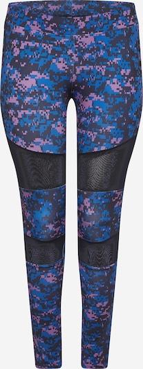 Urban Classics Leggings in sky blue / mauve / black, Item view