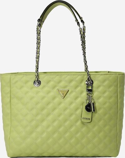 GUESS Handtasche 'CESSILY' in limette, Produktansicht