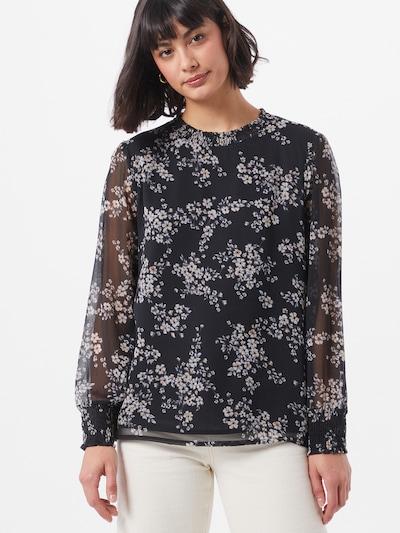 STREET ONE Bluse in mischfarben / schwarz, Modelansicht