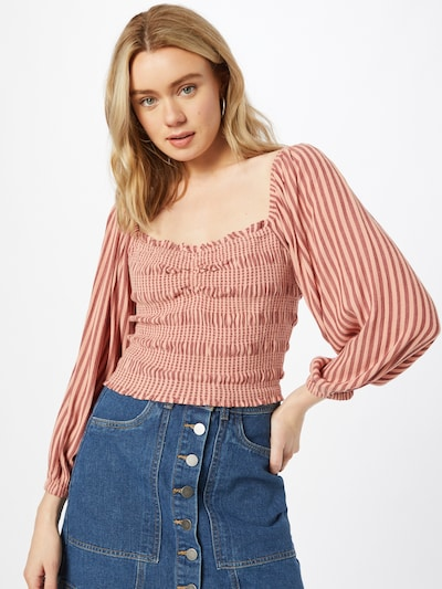 American Eagle Bluse 'SWEETHEART' in rosa, Modelansicht