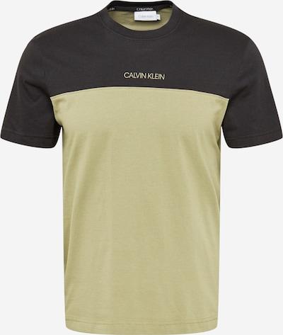 Calvin Klein Paita värissä vihreä / musta, Tuotenäkymä