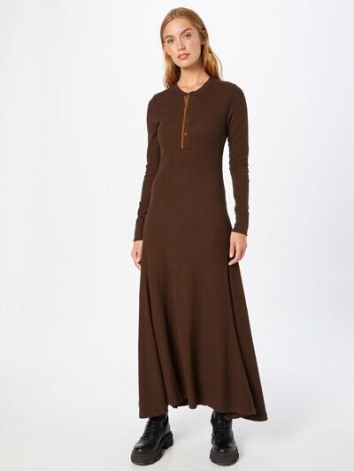 Polo Ralph Lauren Рокля в кафяво / коняк, Преглед на модела