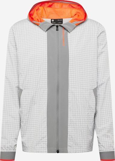 UNDER ARMOUR Športová bunda - dymovo šedá / neónovo oranžová / biela, Produkt