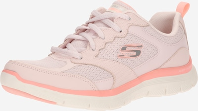 fáradt rózsaszín SKECHERS Rövid szárú edzőcipők, Termék nézet