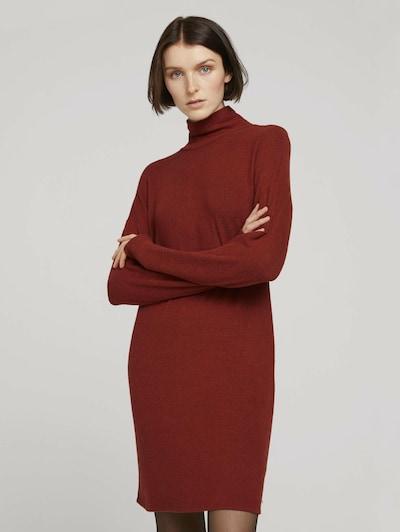 TOM TAILOR DENIM Pullover in rot, Modelansicht