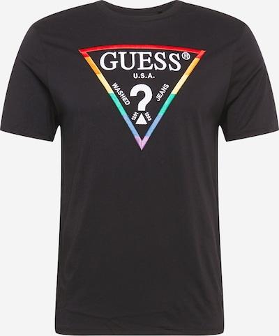 GUESS Majica | rumena / zelena / rdeča / črna / bela barva, Prikaz izdelka