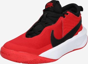 Pantofi sport 'Team Hustle D 10' de la NIKE pe roșu