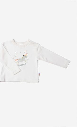 LILIPUT Langarmshirt 'Unicorns' mit niedlichem Print in ecru, Produktansicht