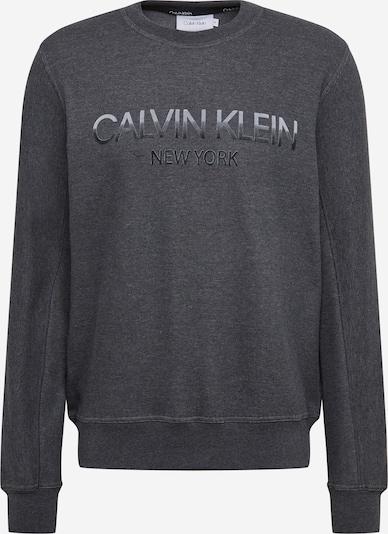 Felpa Calvin Klein di colore grigio chiaro / grigio scuro, Visualizzazione prodotti