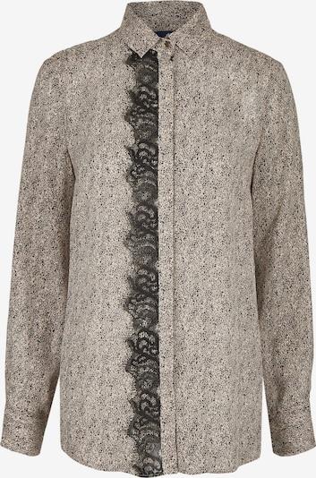 DANIEL HECHTER Bluse in graumeliert, Produktansicht