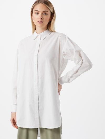 SISTERS POINT Chemisier 'ITANA' en blanc, Vue avec modèle