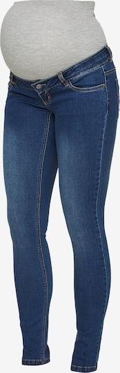 MAMALICIOUS Jeansy 'Mllola' w kolorze niebieski denim / nakrapiany szarym, Podgląd produktu
