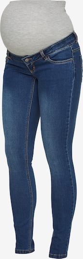 MAMALICIOUS Jeans 'Mllola' i blue denim / grå-meleret, Produktvisning