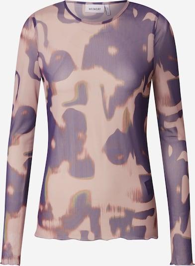 WEEKDAY Shirt in de kleur Lila / Rosa, Productweergave