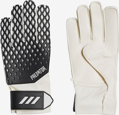 ADIDAS PERFORMANCE Sporthandschuh in schwarz / weiß, Produktansicht