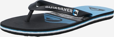 QUIKSILVER Žabky 'MOLOKAI' - šedá / černá, Produkt