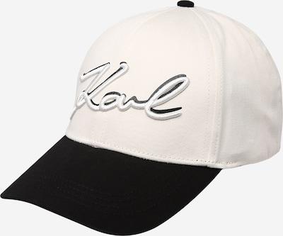 Karl Lagerfeld Casquette en beige / noir, Vue avec produit